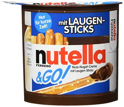 nutella &Go mit Laugen-Sticks, 12er Pack (12 x 54 g)