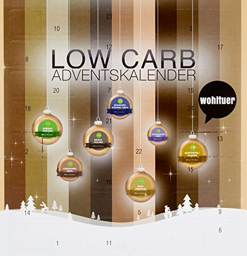 Handelshaus Huber-Koelle 'LOW CARB' - Adventskalender, 310 g