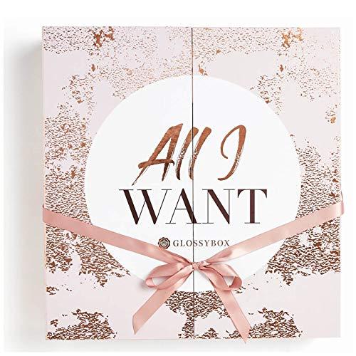 Glossybox Adventskalender 2018gefüllt mit 25 unserer Lieblings-Beauty-Produkte im Wert von über £300 (17 in full size)