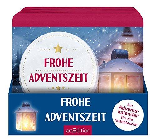 Frohe Adventszeit: Ein Adventskalender für die Hosentasche