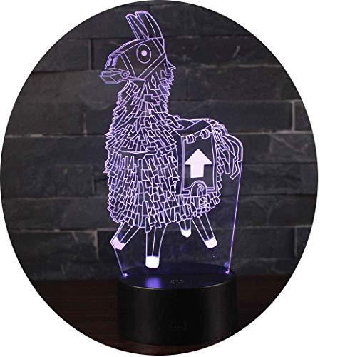 Ray-Velocity 3D Illusion Lampe Nachtlicht optische Täuschung Lampe Schreibtischlampe Tischlampe 7 Farben mit Acryl-Ebene & ABS Basis für Schlafzimmer Kinder Weihnachts Valentine Geburtstag geschenk