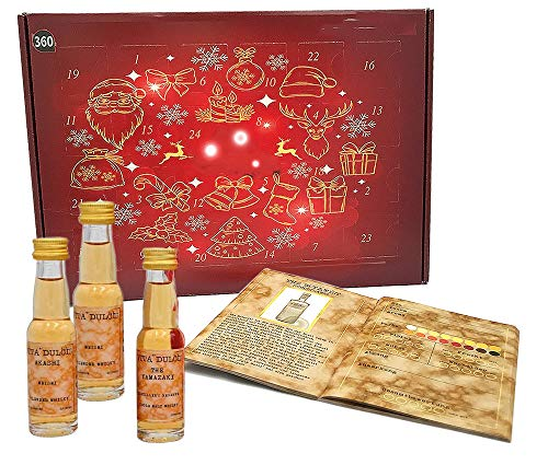 Whisky Adventskalender Classic - Edition 2020, 24 Single Malt Whiskys je 20ml aus Schottland