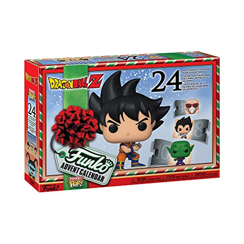 Funko 49660 POP Dragon Ball Z Advent Calendar, Mehrfarben