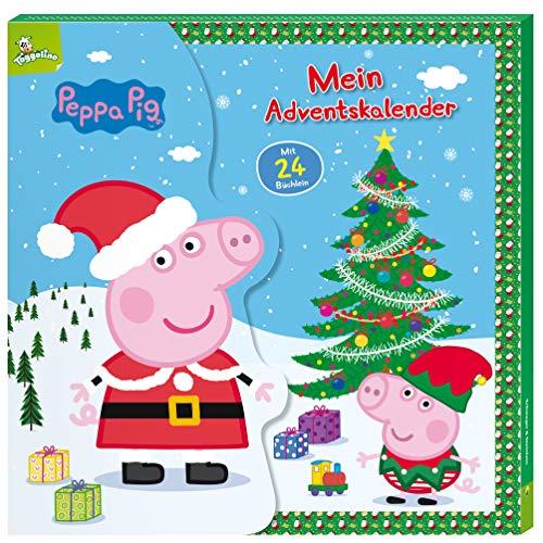 Peppa Pig Mein Adventskalender: Mit 24 Büchlein in Kalender-Box für Kinder ab 3 Jahren
