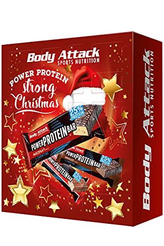 Body Attack Sports Nutrition Original FITNESS - ADVENTSKALENDER 2020 - Protein- und Fitnessriegel