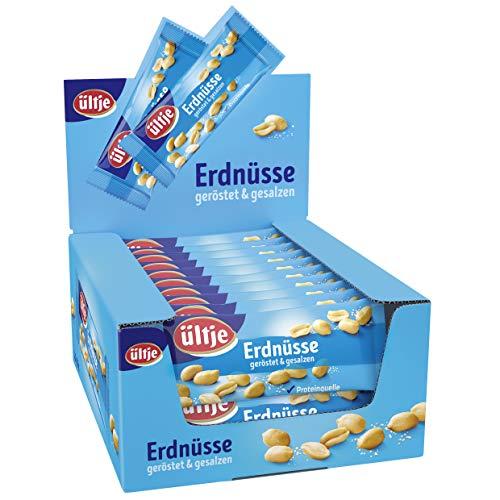 Erdnüsse Riegelbeutel, geröstet & gesalzen 20x 50g