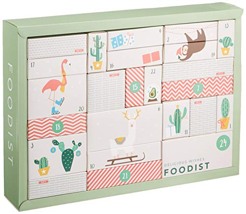 Foodist Premium Adventskalender (Active - Vegan 2018)