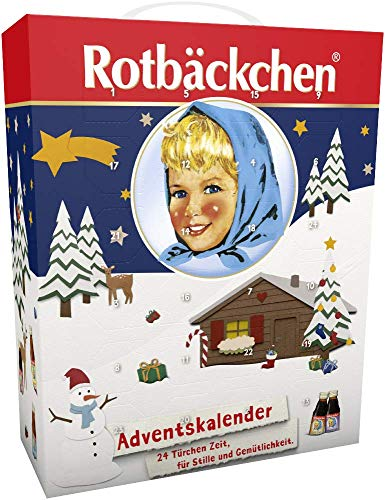Rotbäckchen Adventskalender, 1er Pack