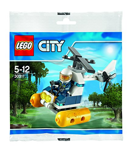 LEGO City : Swamp Police Helicopter Mini Set (IN Plastic Bag) (30311)