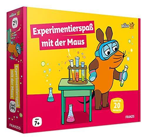 FRANZIS 67199 - Experimentierspaß mit der Maus, 20 Versuche für Ferien und Freizeit, empfohlen ab 7 Jahren