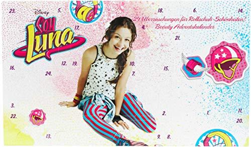 Soy Luna Beauty Adventskalender mit 24 tollen Überraschungen für schöne Haare, Nägel, Augen & glanzvolle Lippen