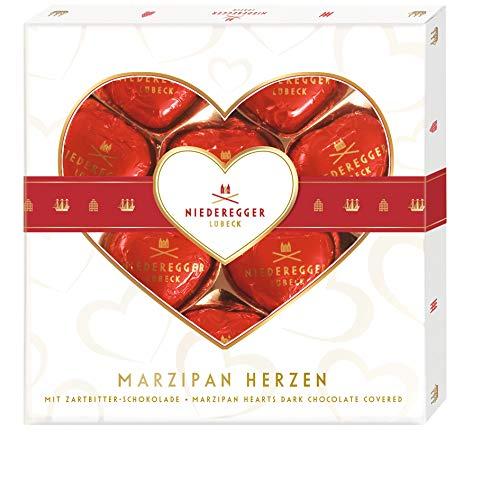 Niederegger Marzipan Herzen , 1er Pack (1 x 125 g)