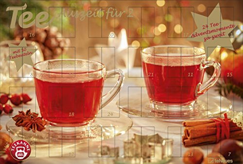 Tee-Adventskalender für Zwei 2018: Tee-Adventskalender Weihnachtskalender