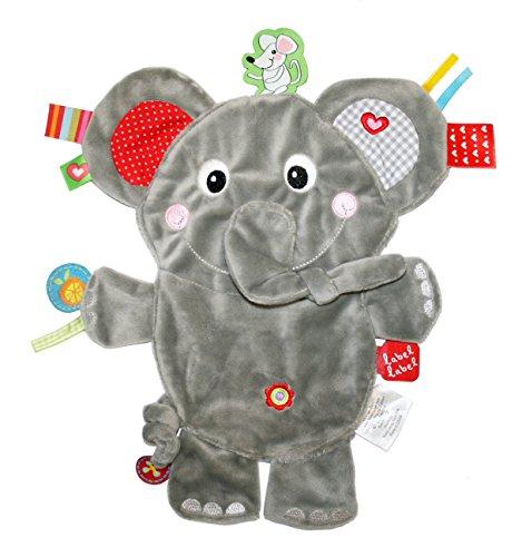 Label Label Schmusetier Friends 'Elefant' - grau
