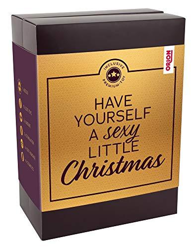 ORION Erotischer Adventskalender 2019 'Luxus' mit Vibro-Ei Belou - Erotik-Weihnachtskalender, perfekte Geschenk-Idee für Paare, 24 Türchen