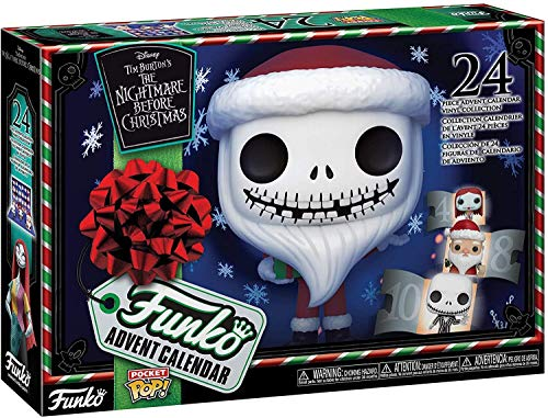 Funko 49668 POP The Nightmare Before Christmas Advent Calendar, Mehrfarben