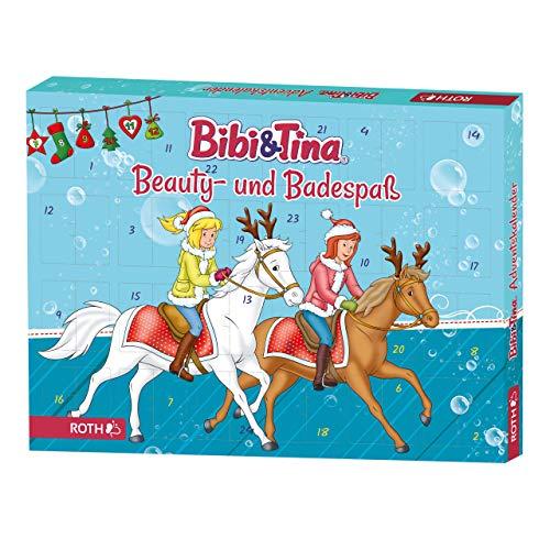 ROTH Bibi und Tina-Adventskalender 2021 gefüllt mit Beauty- und Badespaß für Mädchen und Pferdefreundinnen