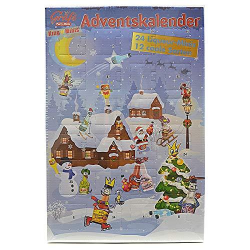 Gräfs Adventskalender mit vielen leckeren Mini-Likören Motiv 2019 (24 x 0,02l)