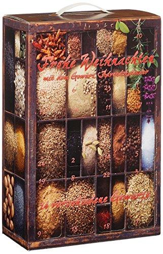 Gewürz Adventskalender mit Sonnentor Gewürzen, 1er Pack (1 x 762g) - Bio