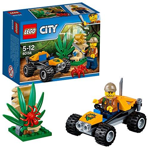 LEGO City 60156 - 'Dschungel-Buggy Konstruktionsspiel, bunt