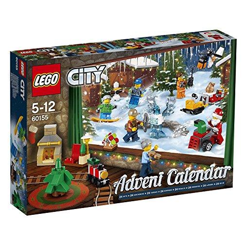 LEGO City 60155 - 'Adventskalender Konstruktionsspiel, bunt