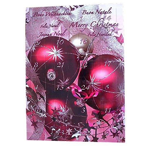 Unbekannt CEBEGO Adventskalender mit 24 schmuckvollen Geschenkideen - Modeschmuck im Advent für Damen und Kinder