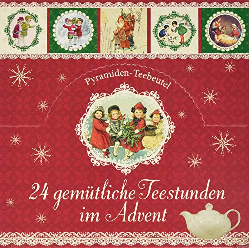 24 gemütliche Teestunden im Advent