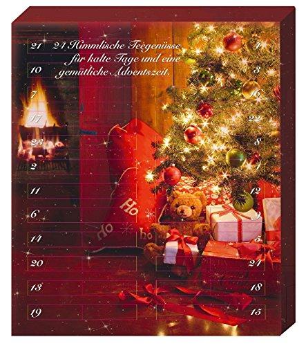 Tee Adventskalender mit 24 Türchen - 24 x loser Tee für einen Kannenaufguß - 360g Tee