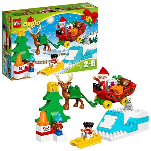 LEGO Duplo 10837 - 'Winterspaß mit dem Weihnachtsmann Konstruktionsspiel, bunt