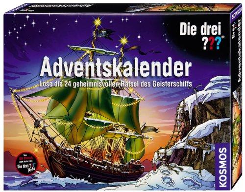 KOSMOS 631475 - Die drei Fragezeichen Adventskalender: Lse die 24 geheimnisvollen Rtsel des Geisterschiffs