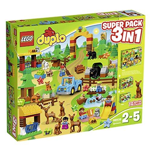Lego Duplo 66538 - Wildpark - Superpack 3in 1