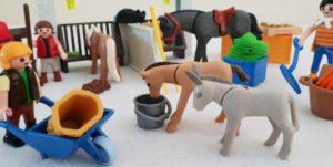 Pferde reiterhof adventskalender playmobil