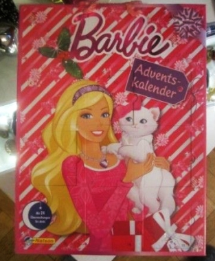 Barbie Adventskalender schokolde