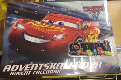 Craze Cars Adventskalender Disney