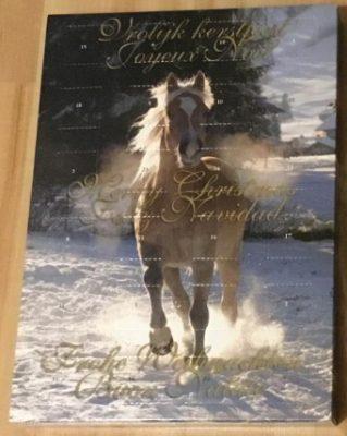 Schokolade Pferde Adventskalender