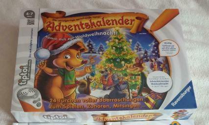 Tiptoi Adventskalender WEihnachten