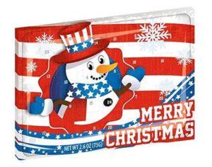 Amerikanische Adventskalender mit Süßigkeiten Test