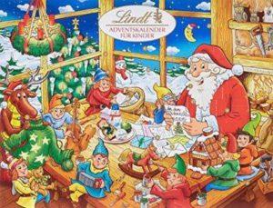 Lindt Adventskalender Schokolade