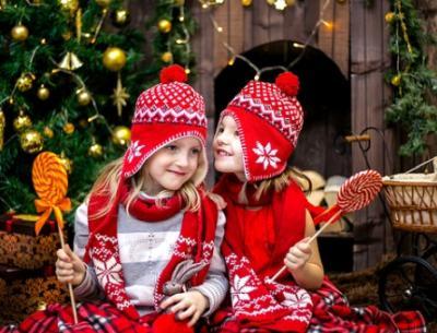Mädchen Adventskalender