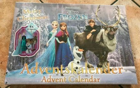 Frozen Adventskalender Elsa