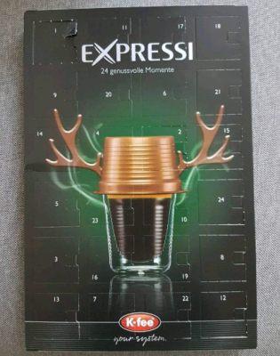 Kaffeepad Adventskalender Kaffeekapseln