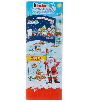 Kinderschokolade Adventskalender