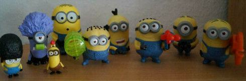 Minions Figuren