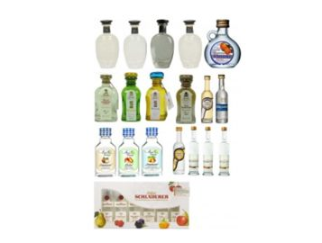 Schnaps Adventskalender Obstbrand