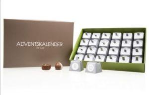Schokoladen Adventskalender De Luxe Green