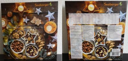 Seeberger Adventskalender Foodies Nuesse